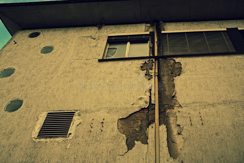 La partie antérieure d'un endroit perdu dans une ville urbaine photo libre de droits