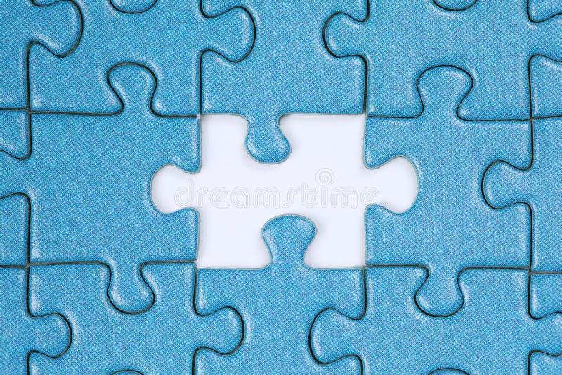 La partie manquante dans un puzzle photos stock