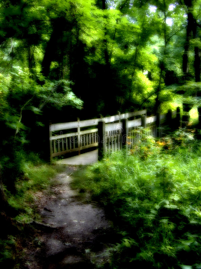 La Passerelle Photo libre de droits