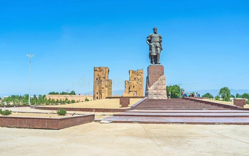 La patria de Amir Timur imagenes de archivo