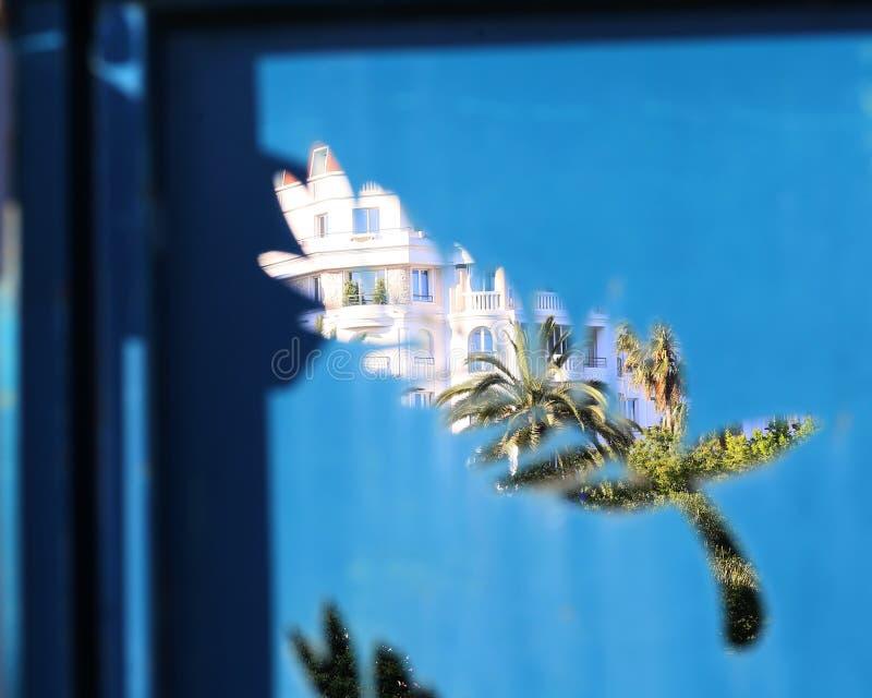 La paume est le logo officiel du festival de film de Cannes photos libres de droits
