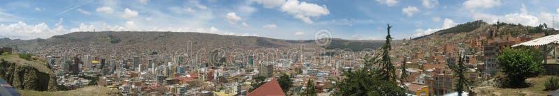 Download La Paz stock photo. Image of bolivia, urban, panoramic - 3732478