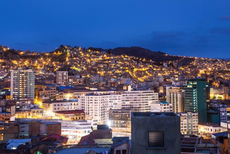 La Paz fotografie stock libere da diritti