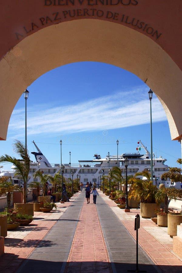 La Paz, beach royalty free stock photography