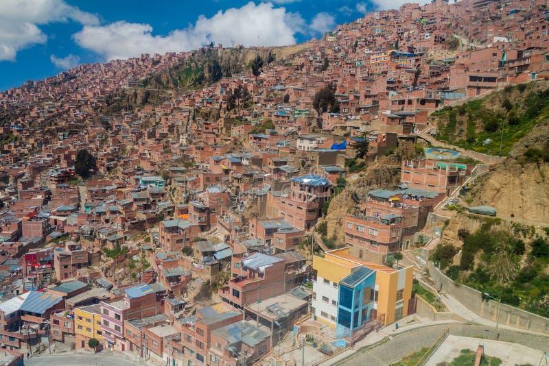 La Paz, Bolívia fotografia de stock royalty free