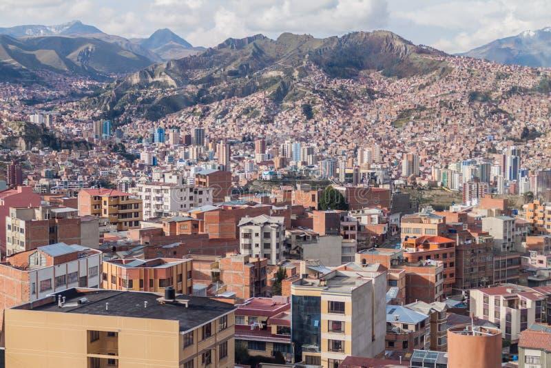 La Paz, Bolívia fotos de stock royalty free