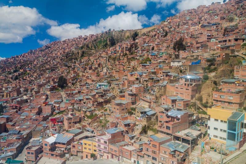 La Paz, Bolívia imagens de stock royalty free
