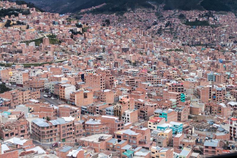 La Paz, Bolívia foto de stock