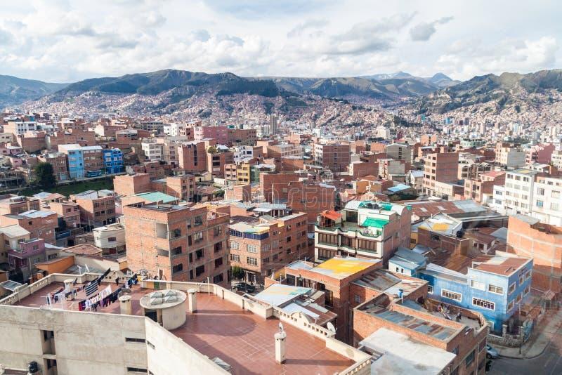 La Paz, Bolívia imagem de stock