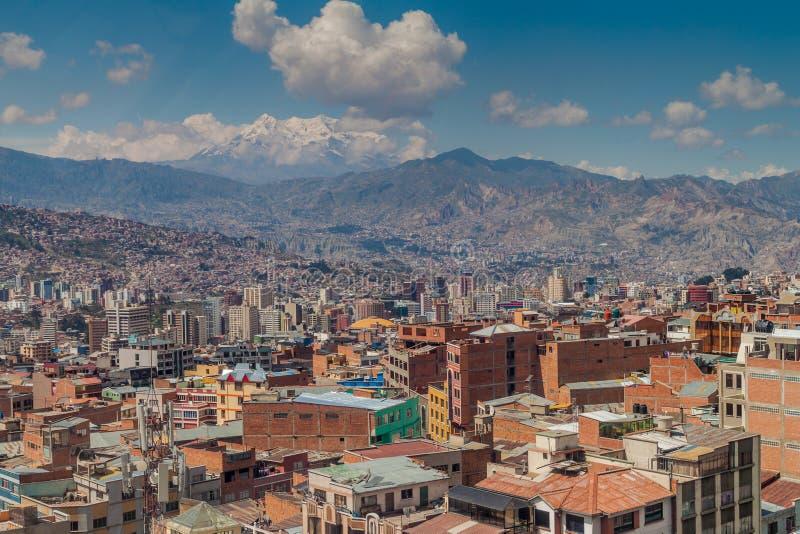 La Paz, Bolívia fotografia de stock