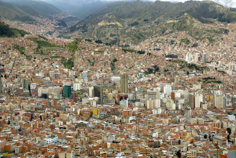 La Paz, Bolívia imagens de stock