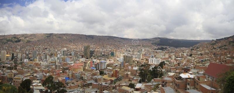 La paz Bolivië royalty-vrije stock fotografie