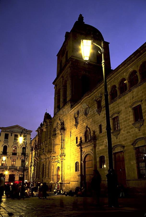La Paz, Bolivië van de kerk stock foto