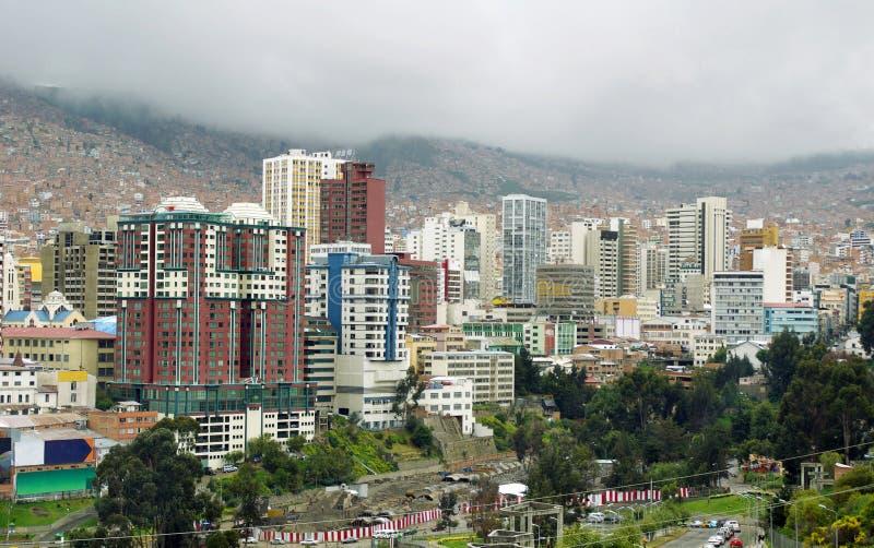 La Paz, Bolivia. imagen de archivo libre de regalías