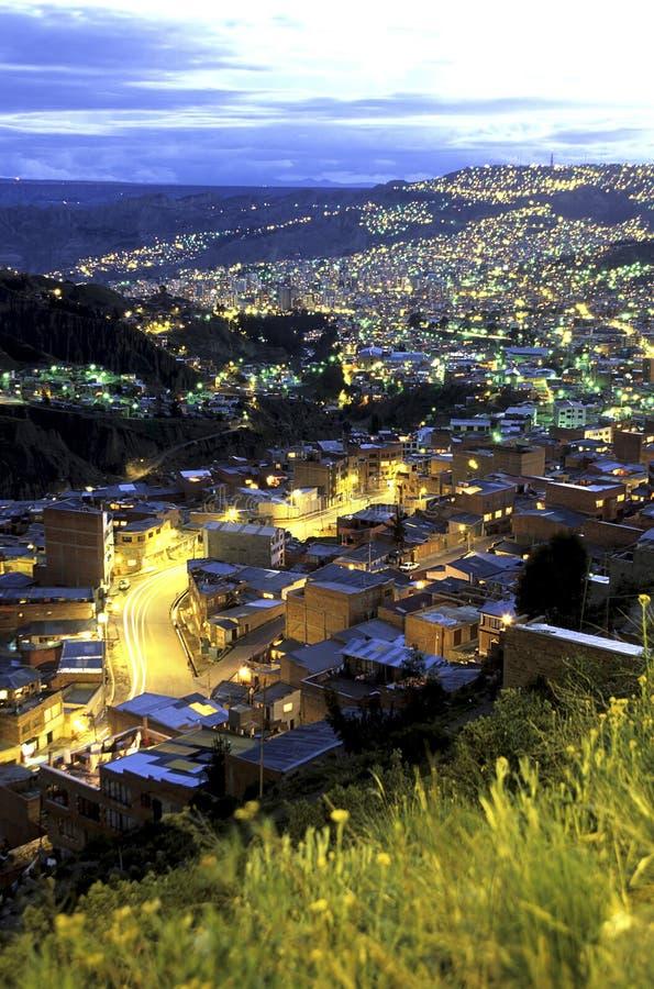 La Paz, Bolivia immagini stock libere da diritti