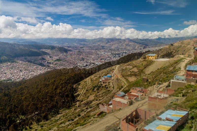 La Paz, Bolivia imagen de archivo libre de regalías