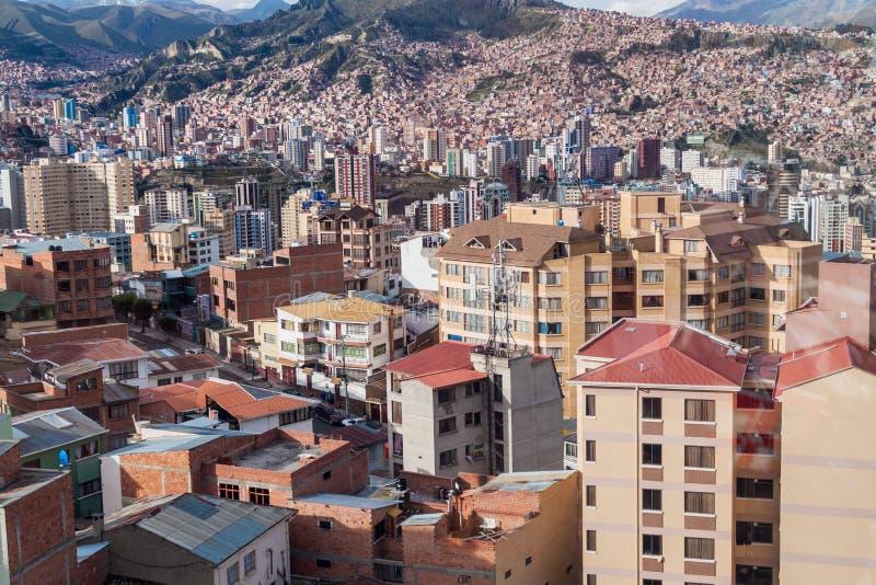 La Paz, Bolivia imagen de archivo
