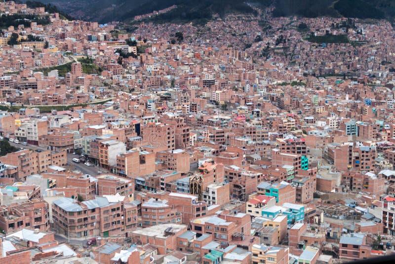 La Paz, Bolivia foto de archivo