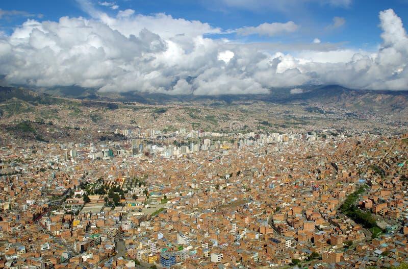 La Paz, Bolivia fotografia stock libera da diritti