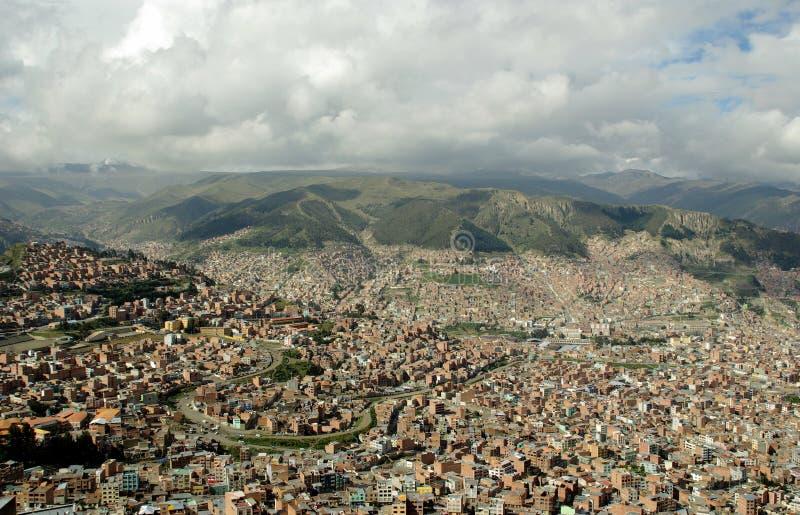 La Paz, Bolivia imagenes de archivo