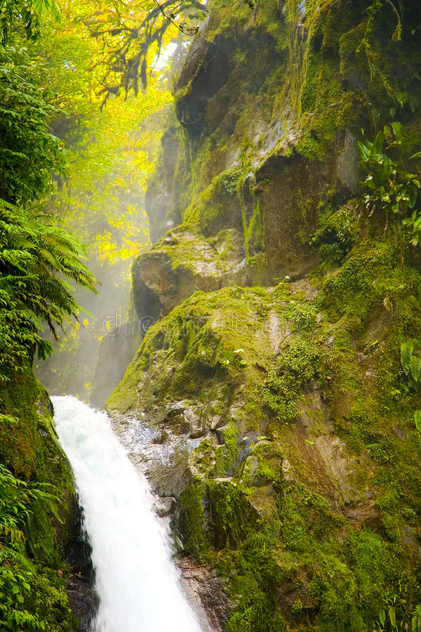 La Paz de Costa Rica Catarata fotos de archivo