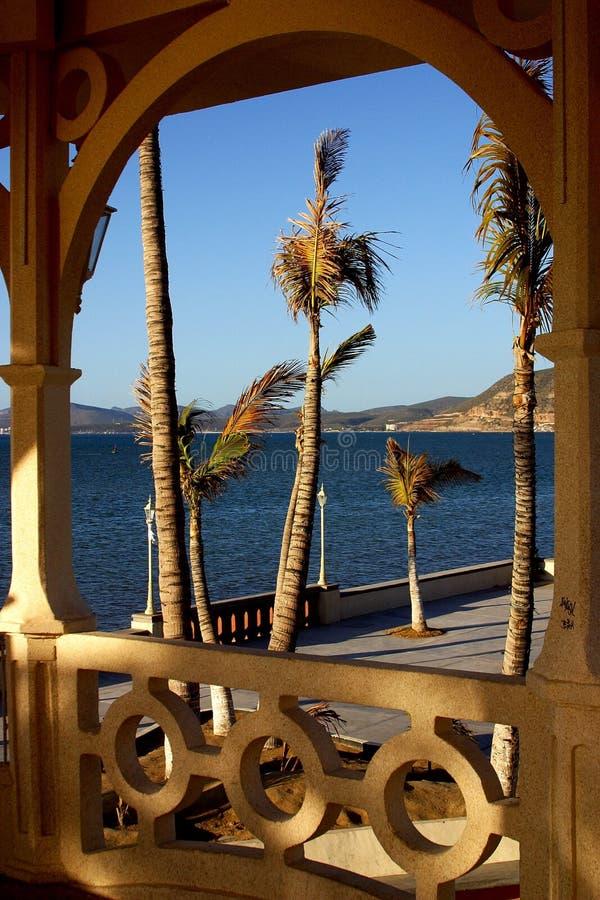 La Paz, Strand stockfoto