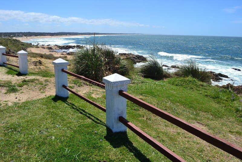 La pedrera, Rocha, Uruguay immagine stock