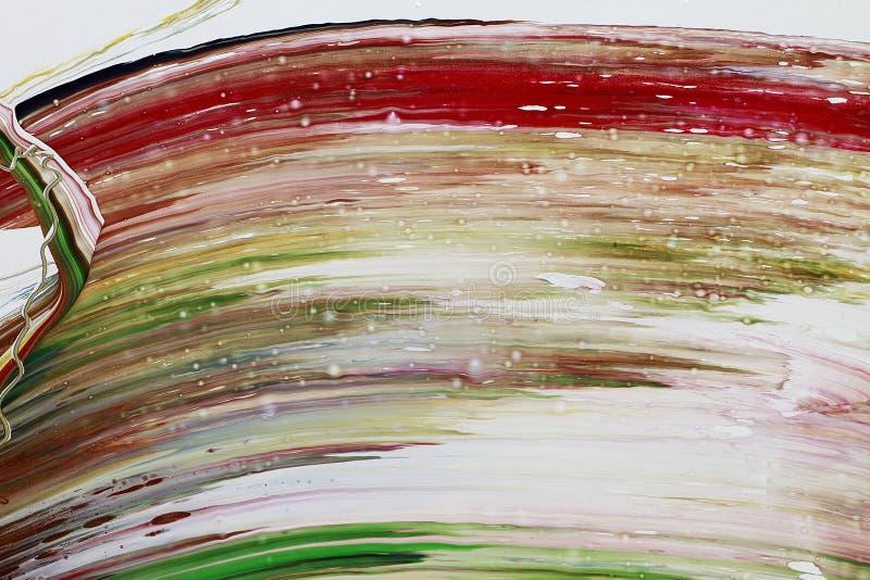La peinture abstraite colore le fond photos libres de droits
