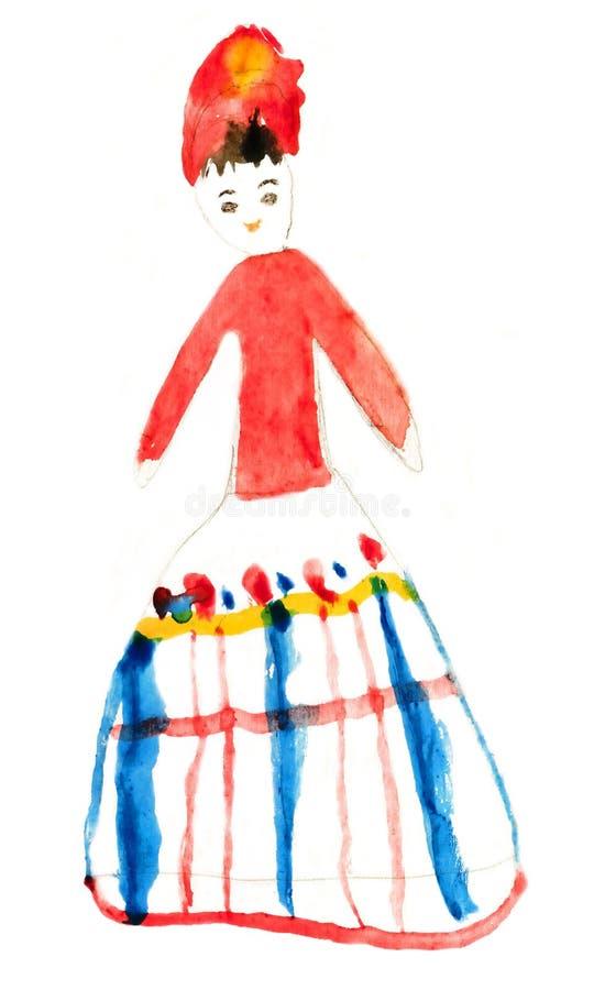 La peinture des enfants illustration stock