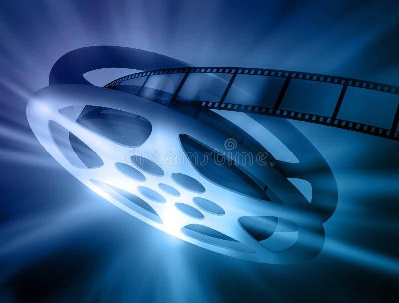 La pellicola. illustrazione di stock