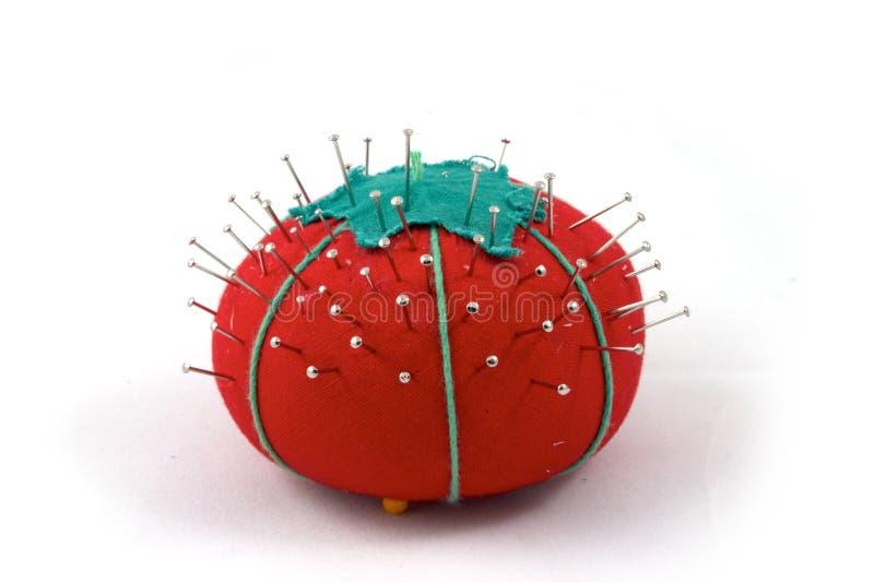 La pelote à épingles photo stock