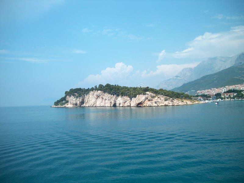La península de Sveti Petar imagen de archivo