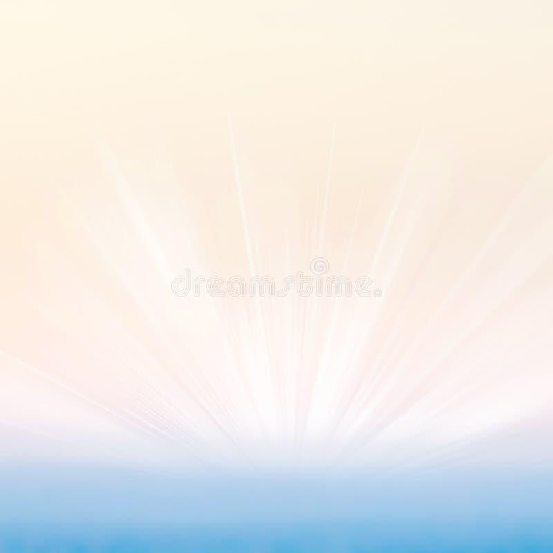 La pendiente abstracta texturizó el fondo con el error tipográfico de la explosión de la luz del sol fotos de archivo libres de regalías