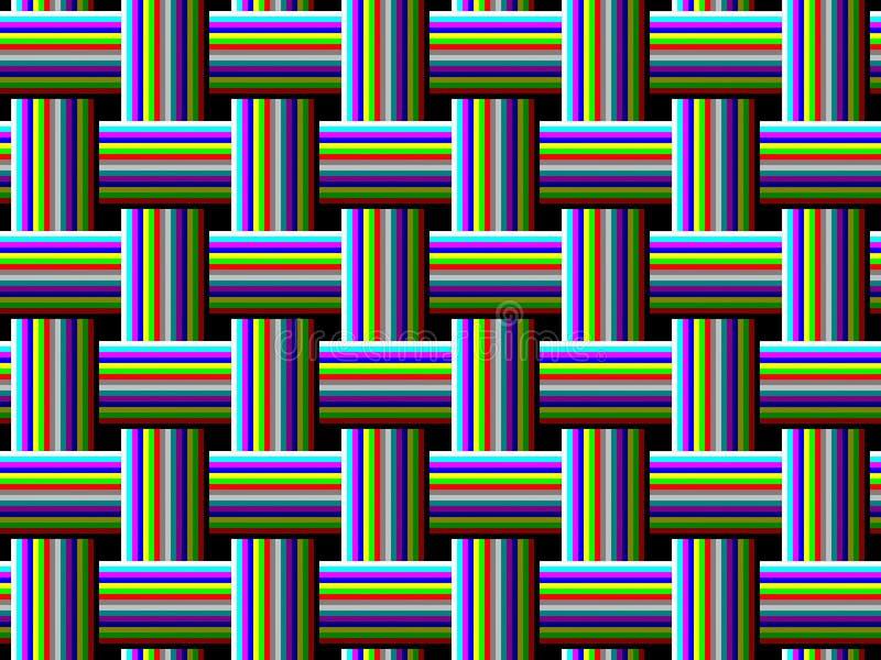 La pendiente teje ilustración del vector