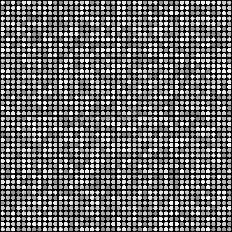 La pequeña ronda del brillo chispea modelo inconsútil libre illustration