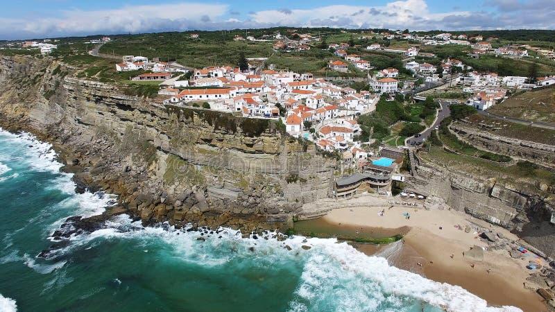 La perle de Sintra-Azenhas troublent photos stock