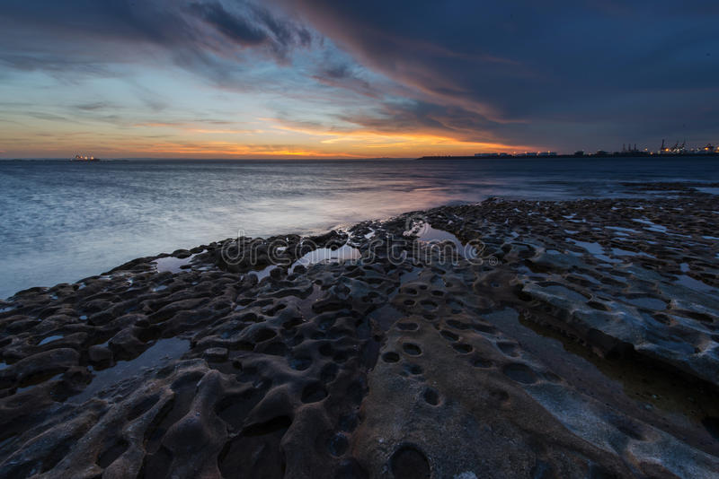 La perouse海滩悉尼,澳大利亚 免版税图库摄影