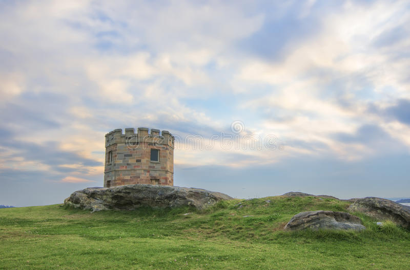 La Perouse building Sydney Australia. A view of the castle structure at La Perouse in Sydney Australia royalty free stock photo