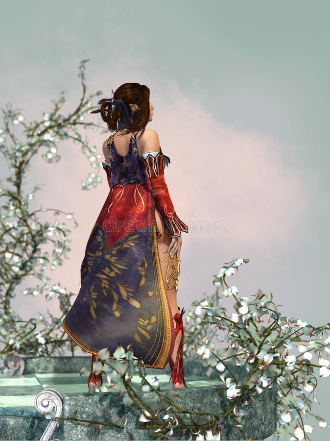 La perspectiva 3d CG libre illustration