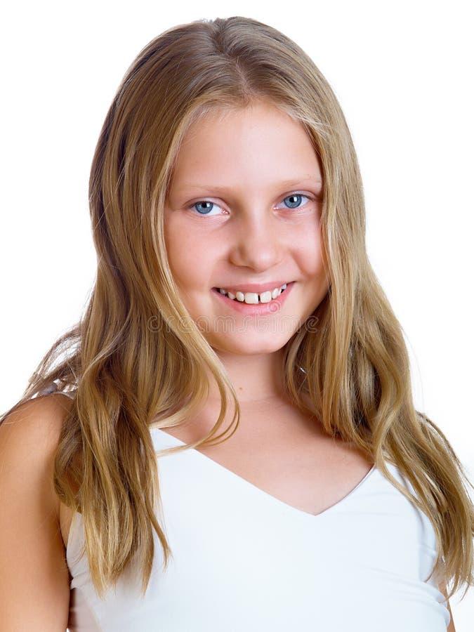 La petite fille image libre de droits