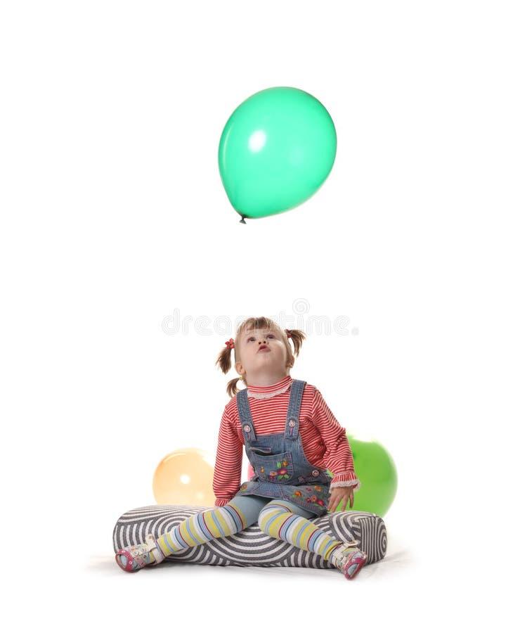 La petite fille images libres de droits