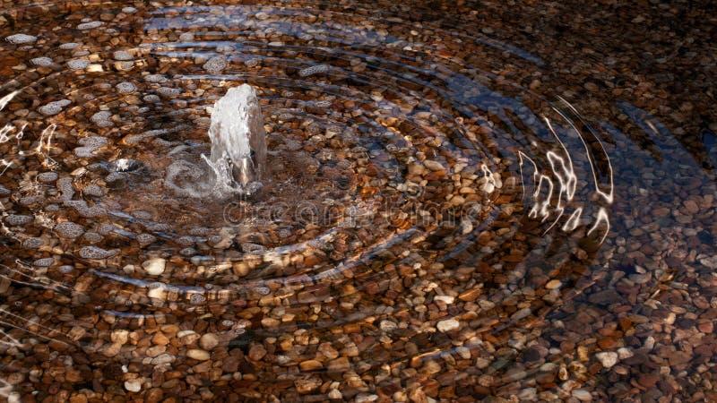 La petite fontaine image libre de droits