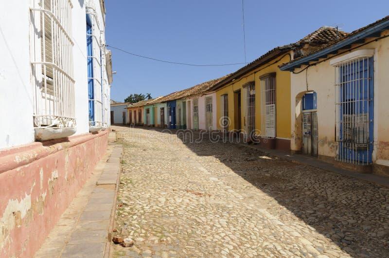 La petite ville du Trinidad image libre de droits