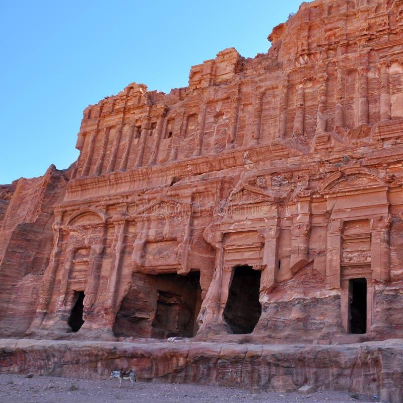 La PETRA-Jordanie image libre de droits