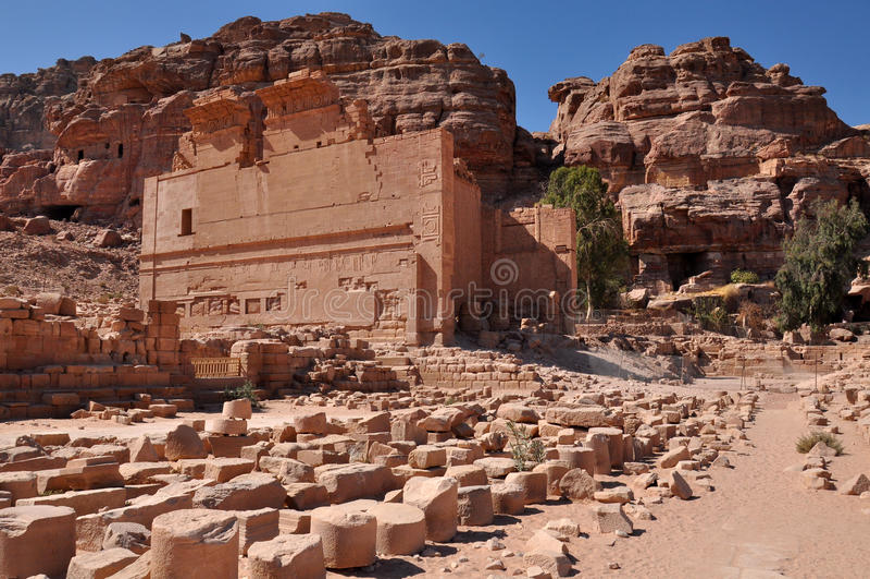 La PETRA-Jordanie image stock