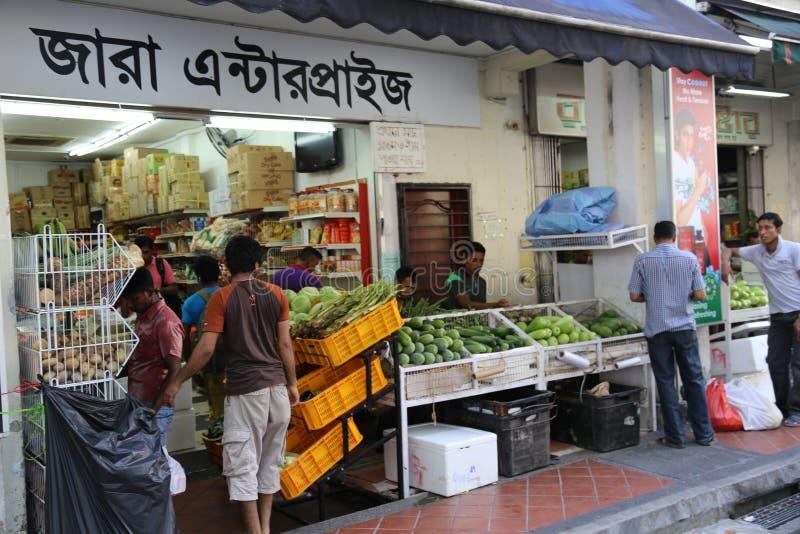 La peu d'Inde à Singapour photo stock