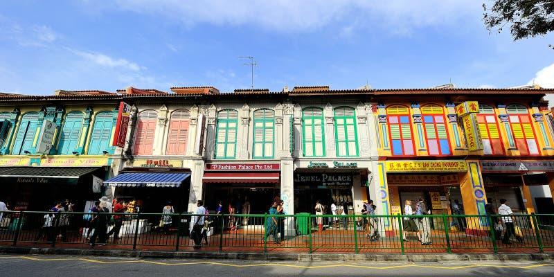 La peu d'Inde, Singapour. photographie stock libre de droits
