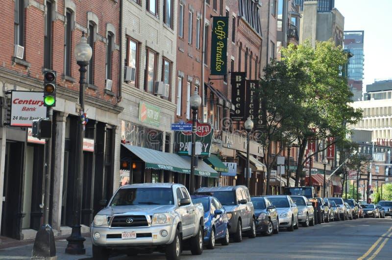 La peu d'Italie à Boston photos libres de droits