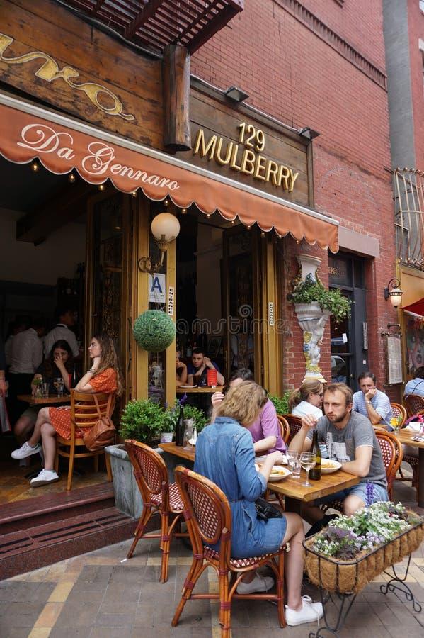 La peu d'Italie, Manhattan, New York City photos stock