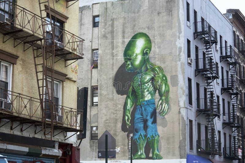 La peu d'Italie, New York City image stock
